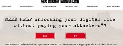 #Sécurité: #Ransomware : 2500 victimes ont pu déverrouiller leurs appareils grâce au site #NoMoreRansom | #Security #InfoSec #CyberSecurity #Sécurité #CyberSécurité #CyberDefence & #DevOps #DevSecOps | Scoop.it