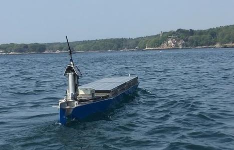 Le 1er bateau écolo sans pilote traverse l'Atlantique - Pepsnews - L'actu positive | Ressources pour la Technologie au College | Scoop.it