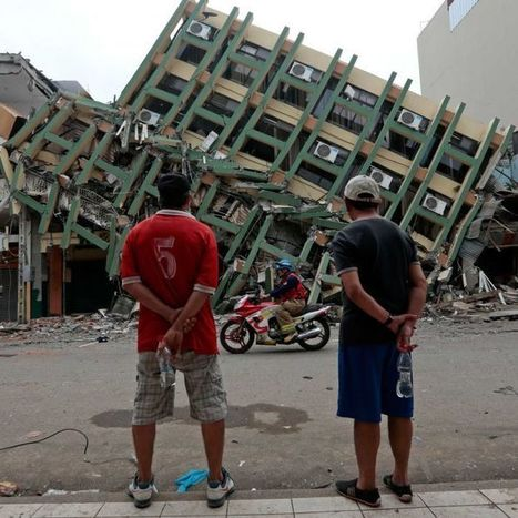 Death toll from Ecuador's earthquake reaches 600 | Lorraine's Landscapes and Landforms | Scoop.it