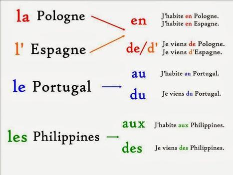 Prépositions + pays | aimer la langue | Scoop.it