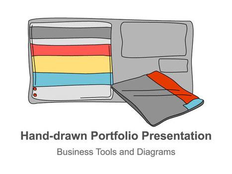 Portfolio Presentation - Hand-drawn | Design Better PowerPoint Presentations | Scoop.it