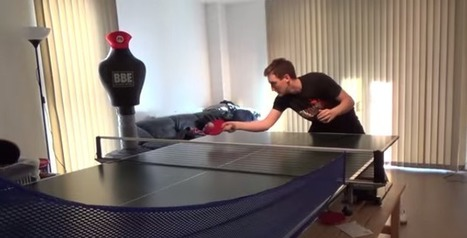This Guy Turned from a Total Noob to Expert at Table Tennis in Just One Year | Social Media Buzz | Scoop.it