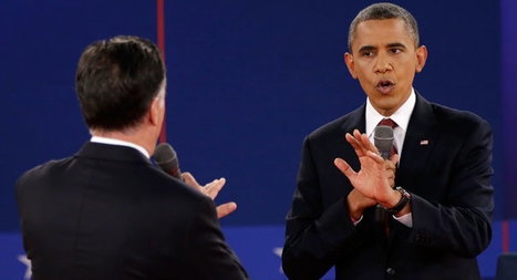 Presidential debate: 10 best lines from Romney, Obama | Educating Voters and Promoting the Vote | Scoop.it