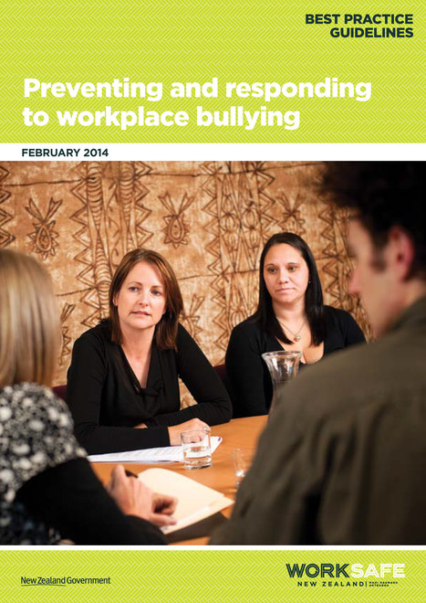 New Zealand trumps Australia on workplace bullying advice | A quest-ion of safety | Scoop.it