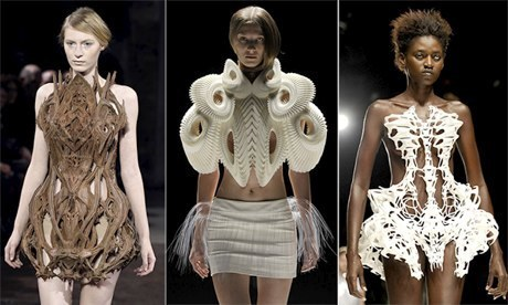 3D-printed fashion: off the printer, rather than off the peg | 3D printing | Scoop.it