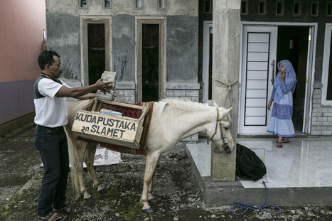 How One Man And His Horse Created A Mobile Library In Indonesia | Librarysoul | Scoop.it