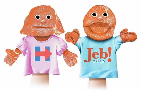 Las marionetas del Nuevo Orden Mundial en diario ABC: Hillary Clinton y Jeb Bush | La R-Evolución de ARMAK | Scoop.it