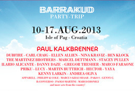Barrakud reveals 2013 lineup | DJing | Scoop.it
