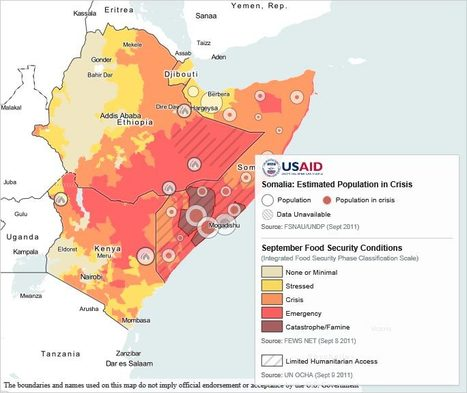 Mapping the Famine in the Horn of Africa | Health Issues | Scoop.it