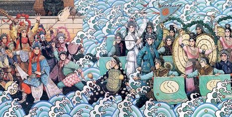Lady White Snake (The Legend of White Snake, Madame White Snake, Madam White Snake, Bai She Chuan, Bai She Zhuan, 白蛇传, 白蛇傳, ) | La Magia de la Opera China | Scoop.it