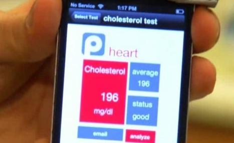 Smartphone app can check cholesterol in 60 seconds | Informations sur la eSanté | Scoop.it