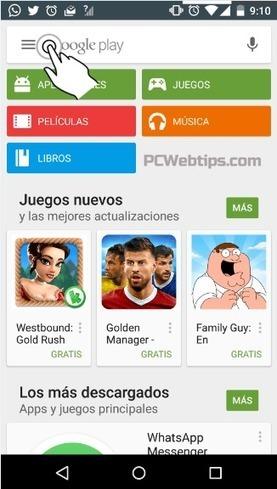 Android: 5 Pasos para Desactivar las actualizaciones automáticas   PCWebtips.com   Android - Aplicaciones y Tips   Scoop.it