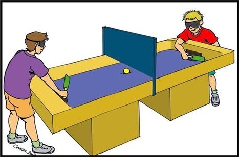Le Showdown, le tennis de table pour joueurs mal voyant | Handisport | ENTRAINEMENTS | News Accessibilité et Handicap | Scoop.it