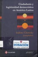 Ciudadanía y legitimidad democrática en América Latina « Boletín ...   Un poco del mundo para Colombia   Scoop.it