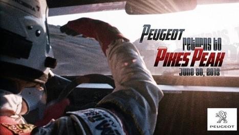 Peugeot confirma su vuelta a Pikes Peak con Sébastien Loeb | Racing is in my blood | Scoop.it