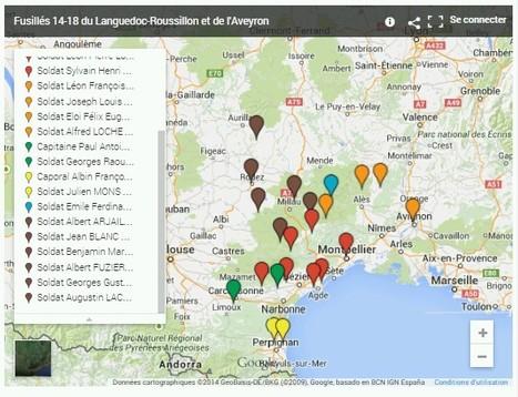 Guerre de 14-18 : les 22 fusillés du Languedoc-Roussillon et de l'Aveyron | Nos Racines | Scoop.it