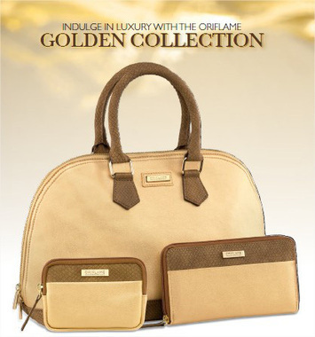 Oriflame Recruitment Campaign: Golden Collection   Beauty & Fashion Tips   Scoop.it