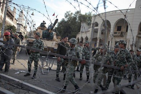 Resignations Continue in Egypt as Tanks Deploy Around Presidential Palace | MN News Hound | Scoop.it