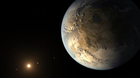 Un planeta casi gemelo de la Tierra que puede albergar agua y vida | biología | Scoop.it
