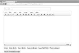 3 extensions de Google Chrome pour WordPress   Mes ressources personnelles   Scoop.it