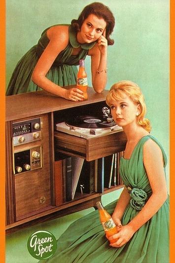 Vintage Green Spot Ad | A Marketing Mix | Scoop.it