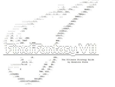 Cohen is a ghost on Twitter | ASCII Art | Scoop.it