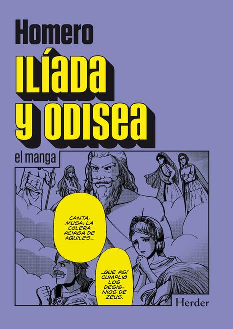 La editorial Herder adapta los clásicos de Homero al género manga | EURICLEA | Scoop.it