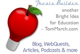 Tom March :: Thesis Builders | Lifelong Learning through Libraries and Technology | Scoop.it
