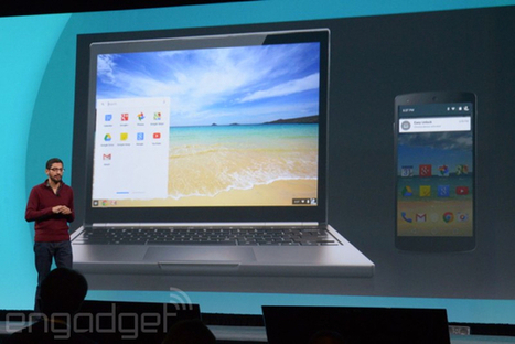 Google is bringing Android apps to Chromebooks - Engadget | Game Hacks | Scoop.it