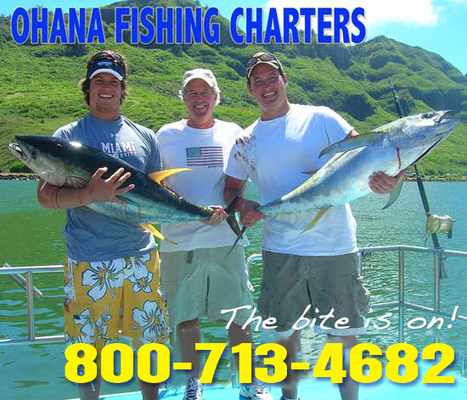 Fishing In Kauai   Deep Sea Sport Fishing On Kauai   Ohana Fishing Charters   Scoop.it