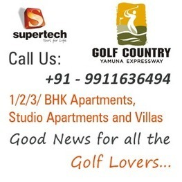 Supertech Golf Country | Supertech Albaria Noida Extension | Scoop.it