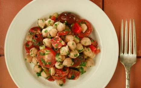 Easy dinner recipes: Three garbanzo bean salads for Gluten-free Wednesday | 4-Hour Body Bean Cookbook | Scoop.it