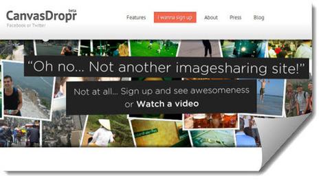 CanvasDropr, editar fotografías y videos de manera colaborativa.- | Posibilidades pedagógicas. Redes sociales y comunidad | Scoop.it