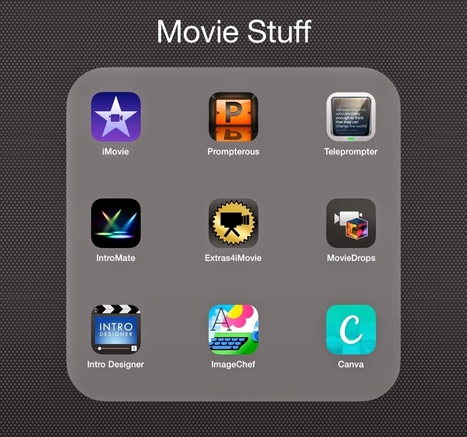 Comfortably 2.0: Great Apps to Complement Your iMovie App   Technology for Teachers   Scoop.it