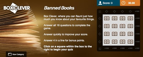 Banned Books Quiz | Box Clever | QuizFortune | Quiz Related Biz - Social Quizzing and Gaming | Scoop.it