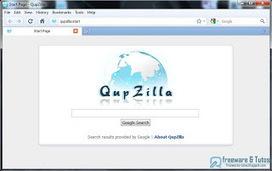 QupZilla : un nouveau navigateur multi-plateformes | Guillaume Grisel | Scoop.it
