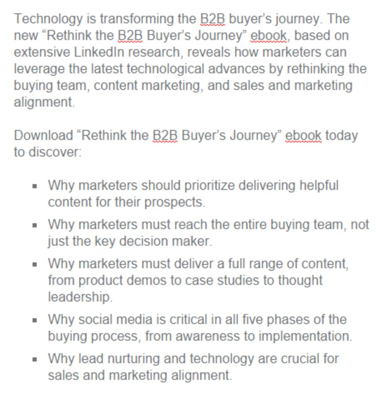 [FREE] Rethinking the B2B Buyer's Journey - LinkedIn | The Marketing Technology Alert | Scoop.it