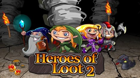 Heroes of Loot 2 for iPhone - Appiod   Latest Mobile Apps   Scoop.it