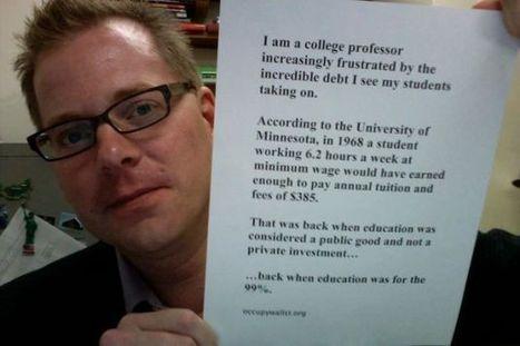Hamline professor's post on student loan debt goes viral | Higher Ed Bubble | Scoop.it