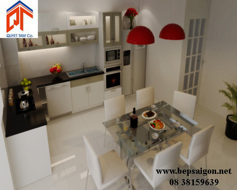 bepsaigon.net - Bếp đẹp nhà Anh Lập - Bình Dương - bep dep nha anh lap - binh duong | Tủ bếp Acrylic - MFC | Scoop.it