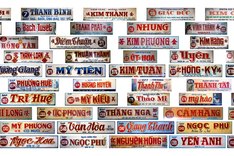 Paying Homage to the Hand-Painted Signs of Cho Lon | Liên-Viêt Réseau culturel France Vietnam | Scoop.it
