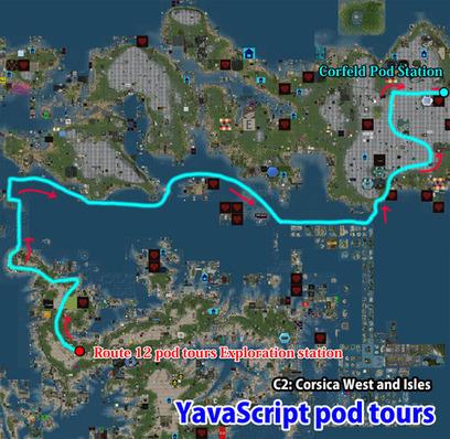 Route 12 pod tours Exploration station, Cecil - Second Life | Second Life Destinations | Scoop.it