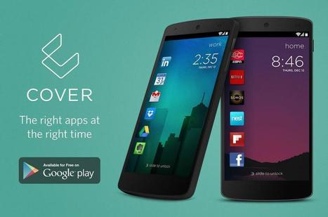 Intelligent lockscreen replacement Cover hits the Play Store | Daily Magazine | Scoop.it