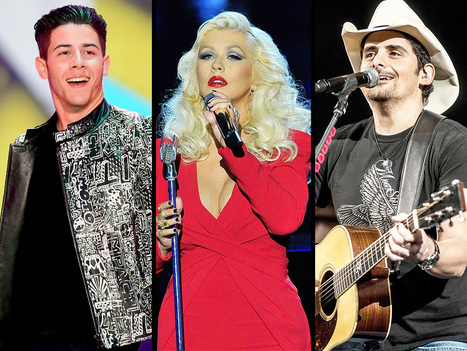 Christina Aguilera, Brad Paisley and More Join the Performance Lineup at the  ACMs | Country Music Today | Scoop.it