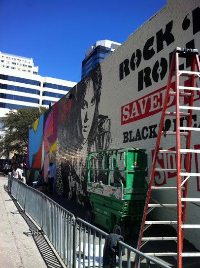 Shepard Fairey New Mural In Austin, USA StreetArtNews   I Love Street Art   Scoop.it