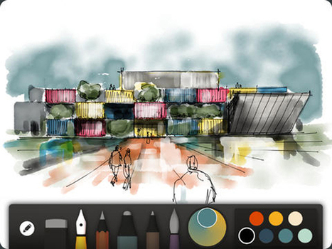 Top 10 iPad Apps for Graphic Designers and Creatives | Tools | Educational iPad apps | Scoop.it