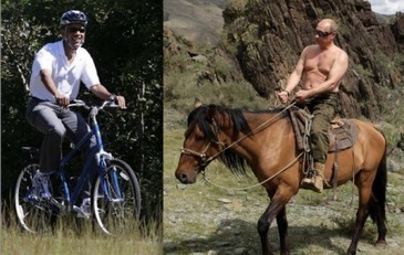 Lefties go full meltdown over Time journo's side-by-side image of Obama and Putin [pic] | Littlebytesnews Current Events | Scoop.it