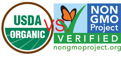 USDA Organic Versus Non GMO Verified - Coupon Complete | Health | Scoop.it