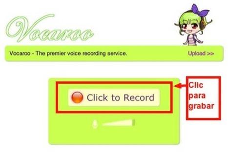 Cómo realizar grabaciones de audio online   Nuevas tecnologías aplicadas a la educación   Educa con TIC   Edu-Recursos 2.0   Scoop.it