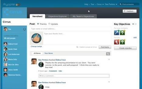 Merit Badges: How Salesforce Motivates a Workforce   New Digital Media   Scoop.it